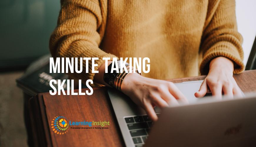 Minute Taking Skills