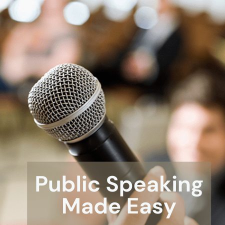 Public speaking (by private coaching)